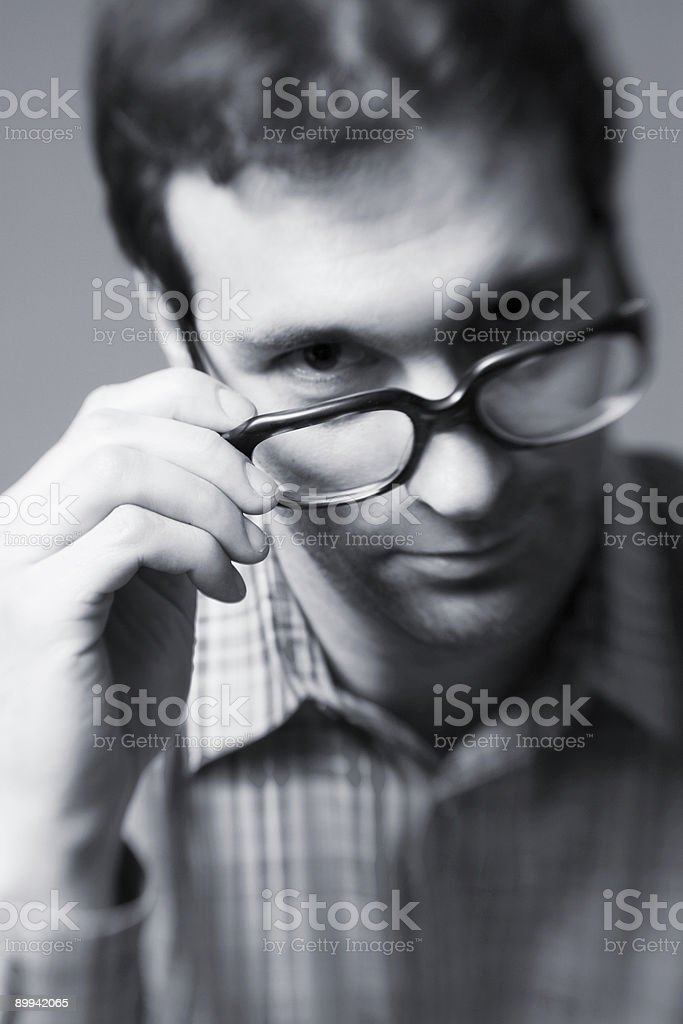 geek boys are sexy stock photo