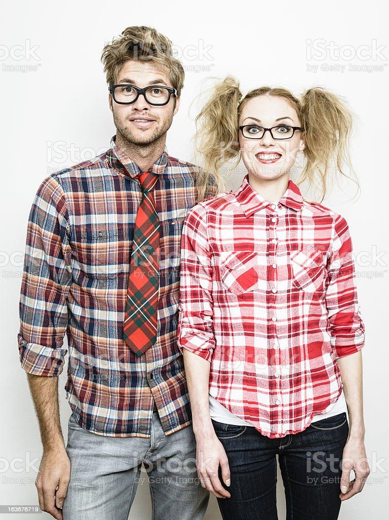 Geek Chic stock photo