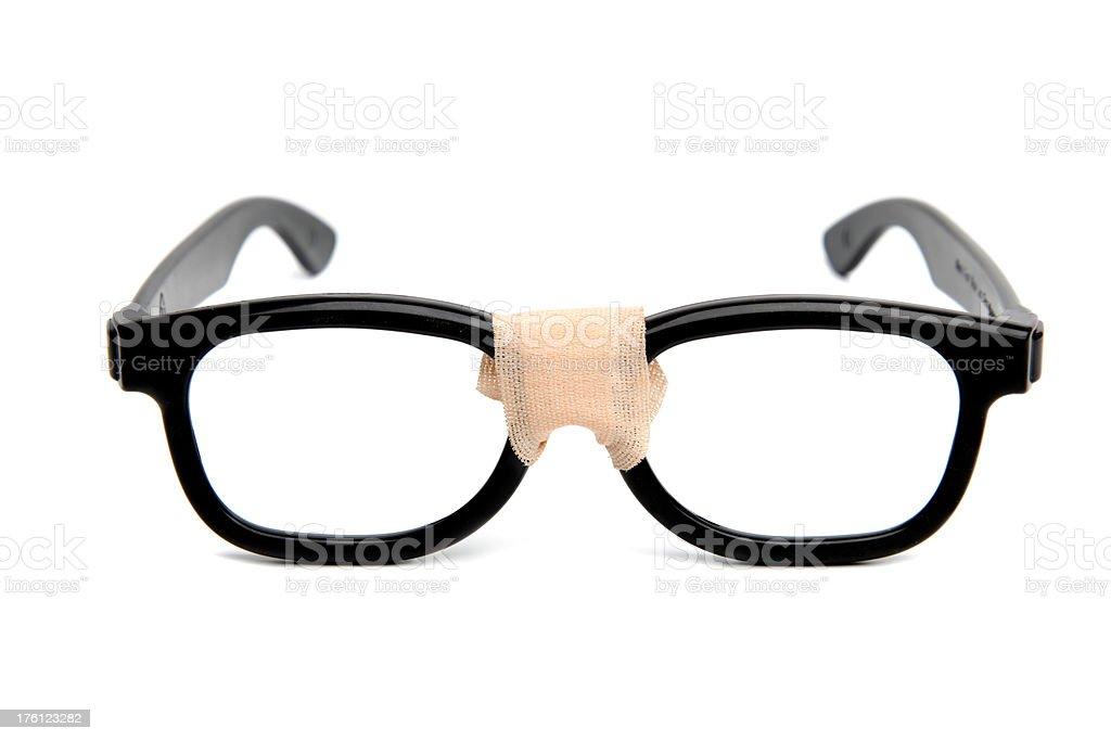 Geek Glasses stock photo