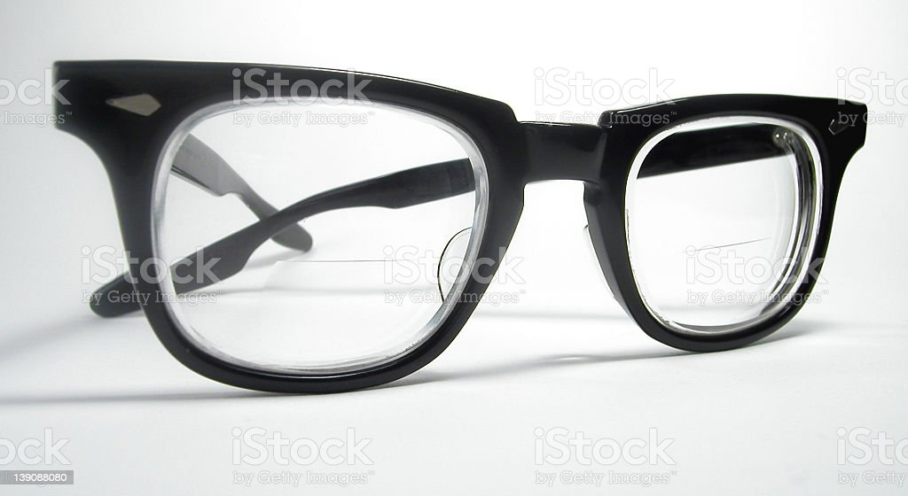Geeky Glasses stock photo