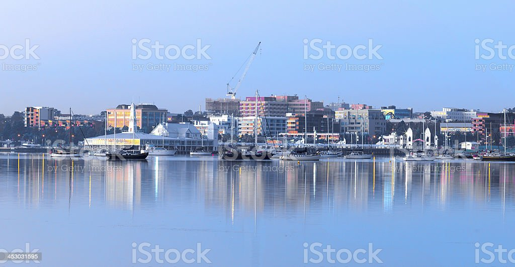 Geelong early morning stock photo