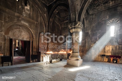 istock Geghard Monastery, Armenia 523443917