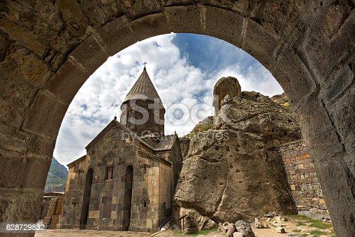 istock Geghard Monastery in Armenia 628729832