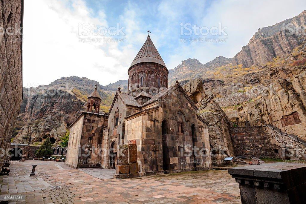 Geghardavank in Armenia stock photo