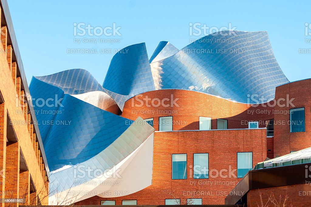 Gehry architecture stock photo