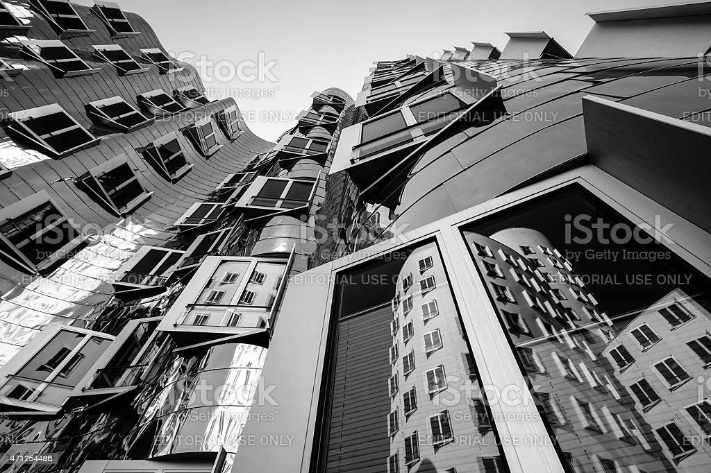 Gehry building - stock image stock photo