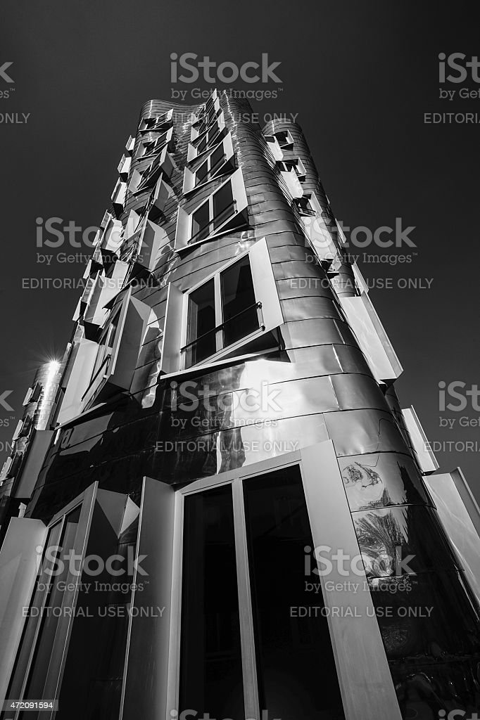 Gehry buildings stock photo