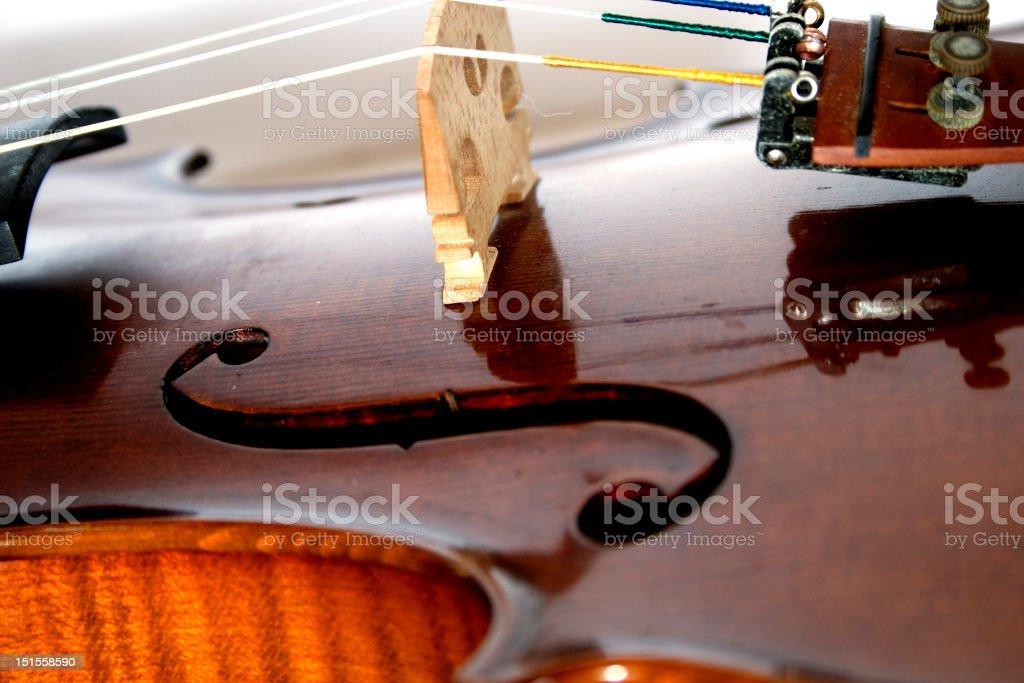 Geige stock photo
