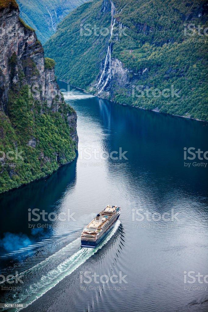 Geiranger-fjord, Norwegen. – Foto