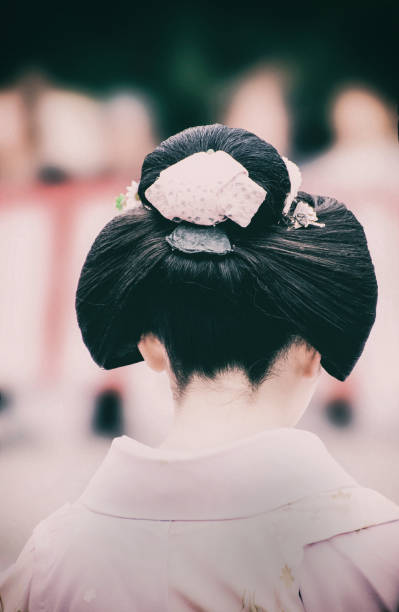 Geisha Coiffure Stock Photo More Pictures Of Architecture Istock