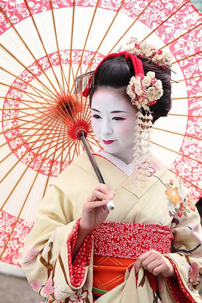 Geisha 舞子イメージです geisha stock pictures, royalty-free photos & images