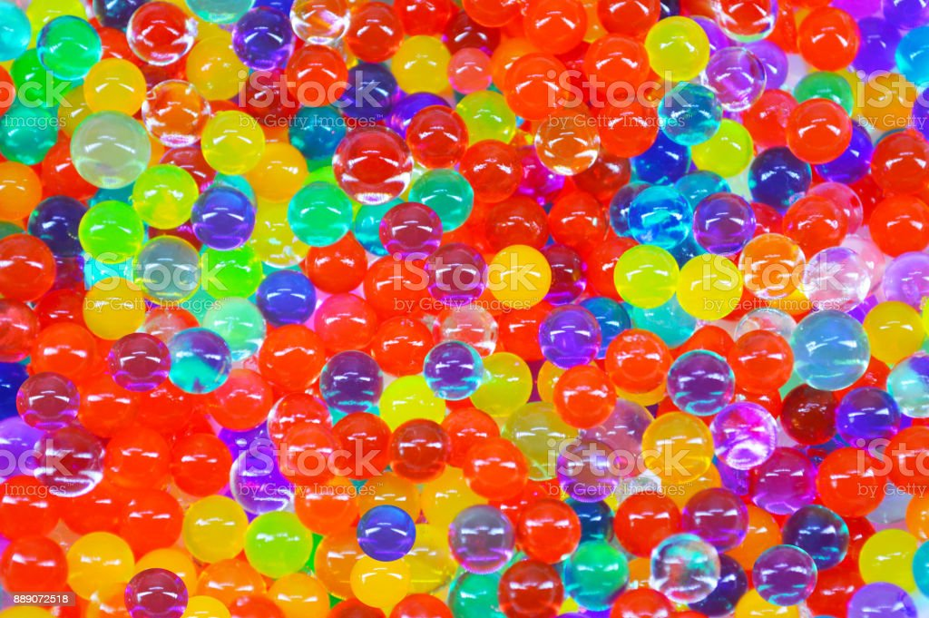 Gel balls royalty-free stock photo