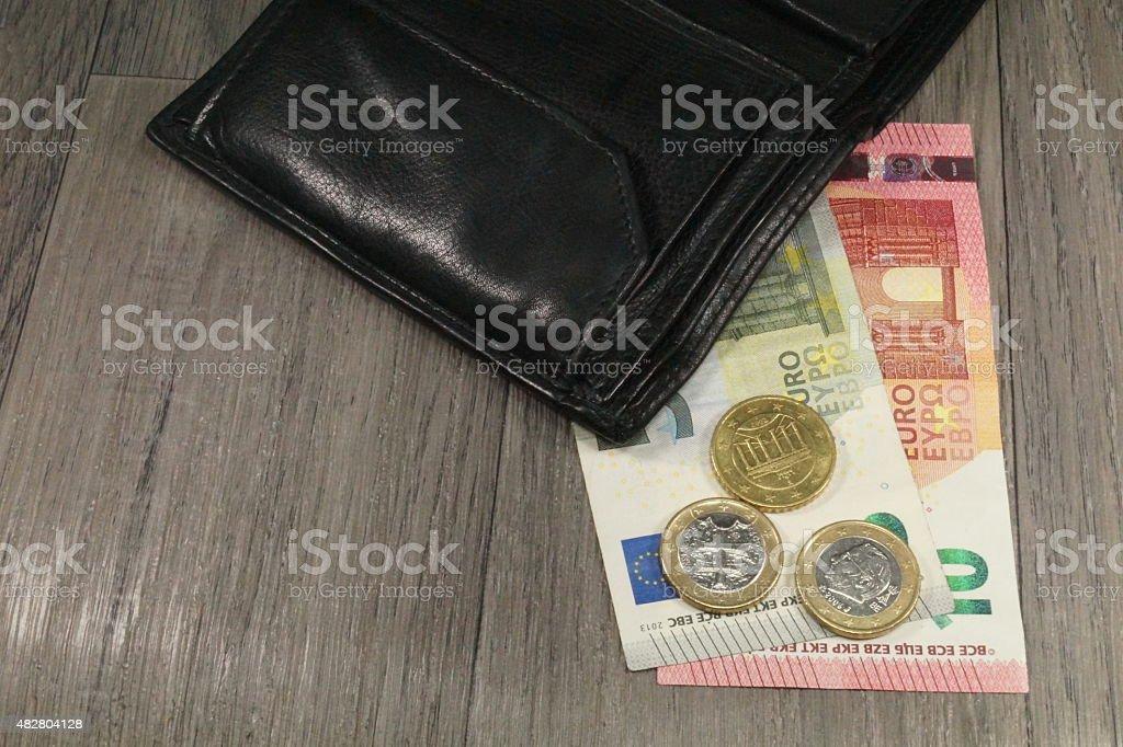 Geldbörse stock photo