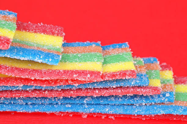 Gelly candy stock photo