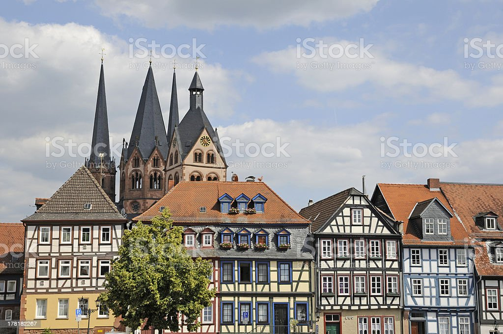 Gelnhausen, Germany stock photo