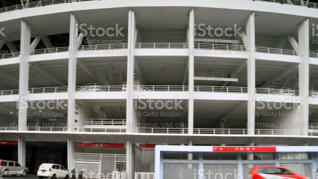Gelora Bung Karno Main Stadium stock photo