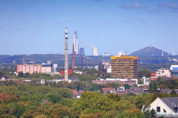 Gelsenkirchen city, Germany stock photo