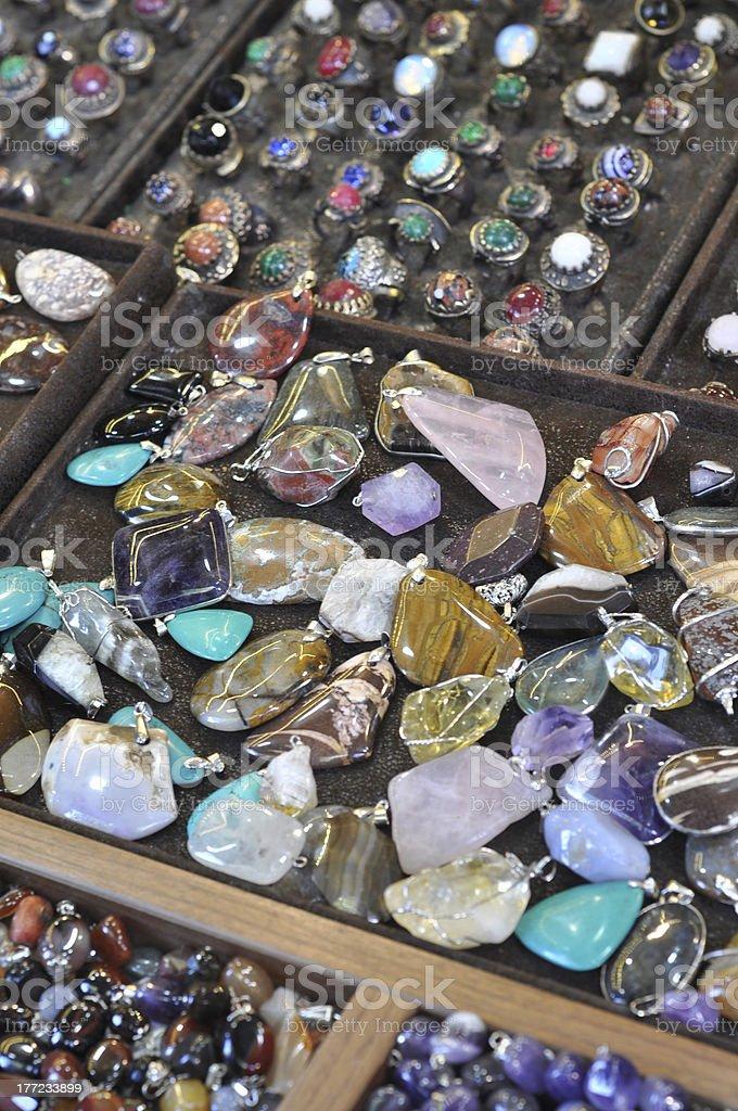 gem and precious stones royalty-free stock photo