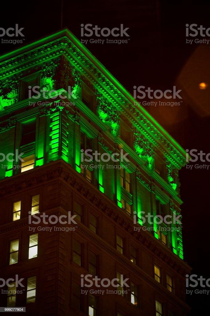 Gem City Nights 1 stock photo