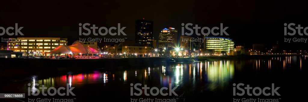 Gem City Nights 3 stock photo
