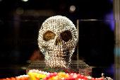 Gem encrusted skull