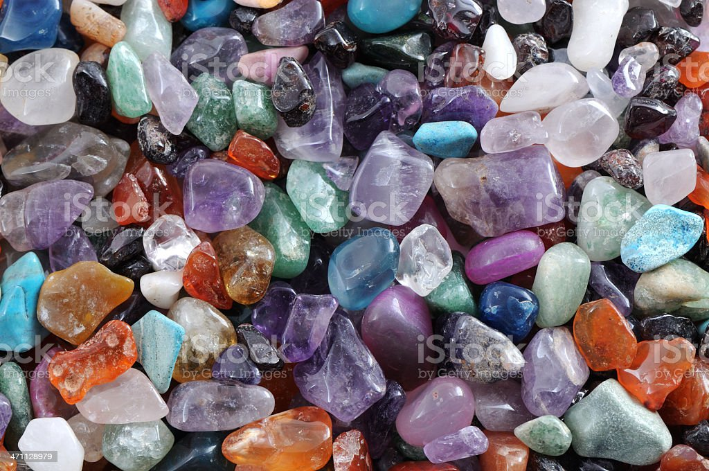 gems and precious stones royalty-free stock photo