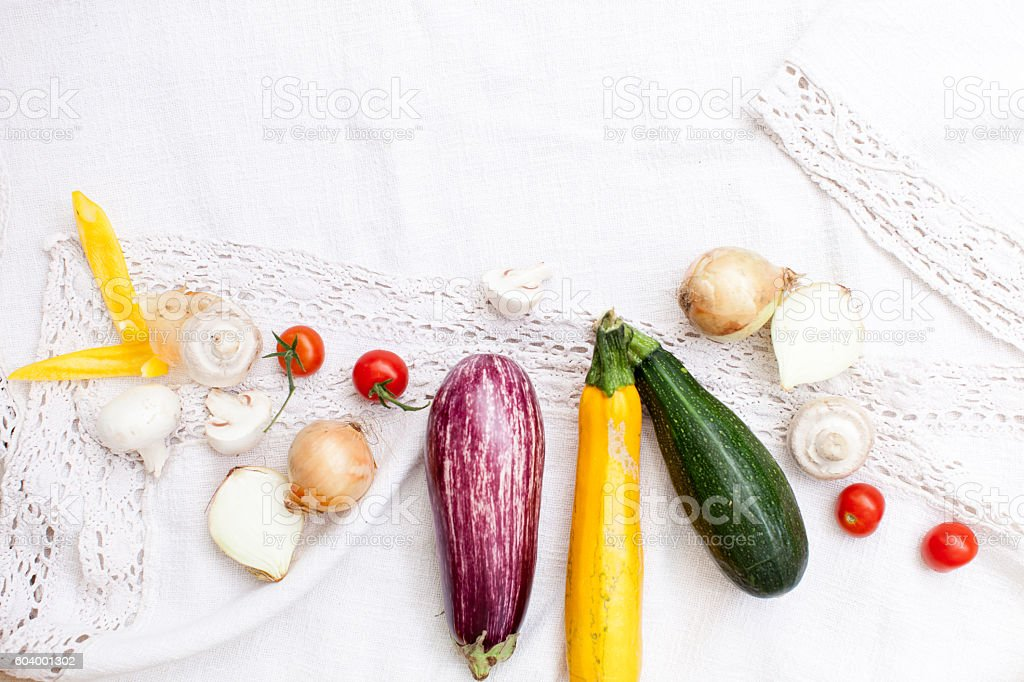 Gemüse für Antipasti stock photo