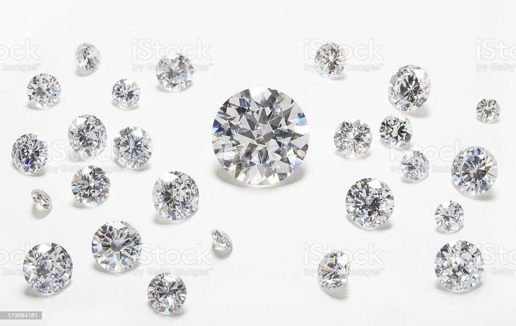 Gemstone group stock photo