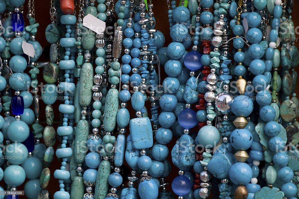 Gemstone jewelry royalty-free stock photo