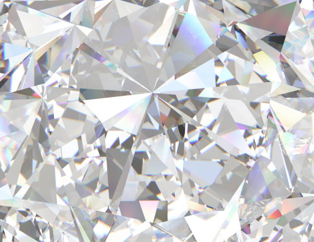 primo passo con texture di pietre preziose o diamanti. - brillante foto e immagini stock