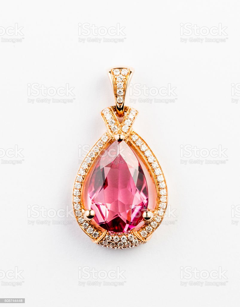 Gemstone Pendant stock photo