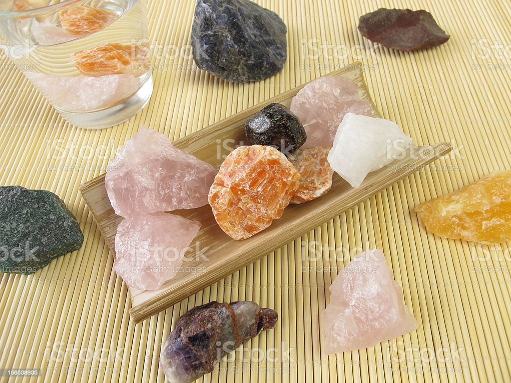 Gemstone water royalty-free stock photo