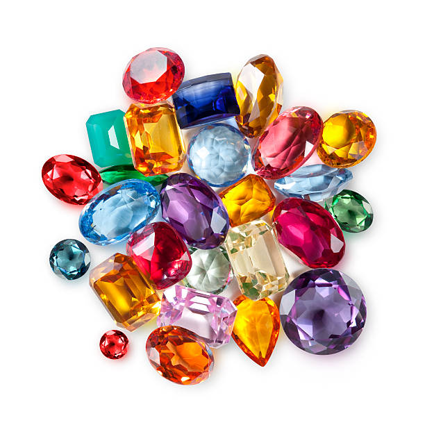 Gemstones Gemstones. stone object stock pictures, royalty-free photos & images