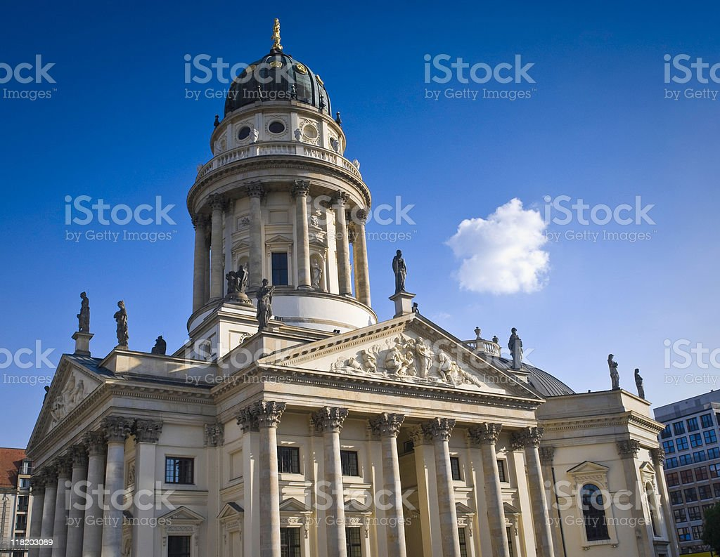 Gendarmenmarkt, Berlin royalty-free stock photo