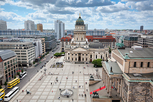 Gendarmenmarkt, Berlin  gendarmenmarkt stock pictures, royalty-free photos & images
