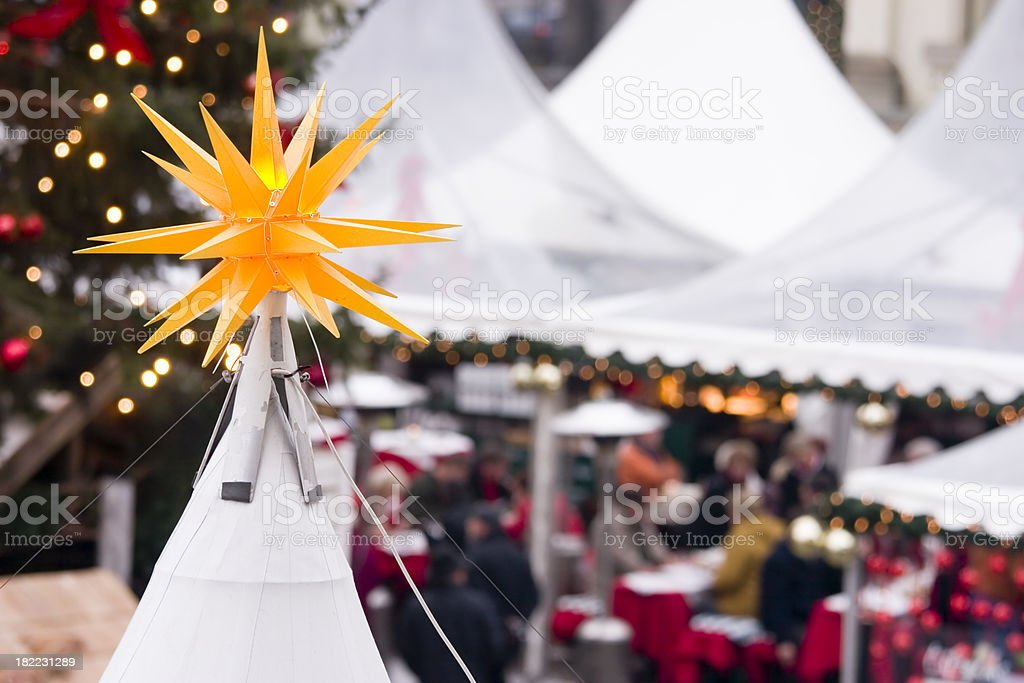 Gendarmenmarkt Christmas Market royalty-free stock photo