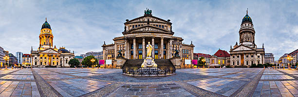 Gendarmenmarkt in Berlin Berlin, Germany at historic Gendarmenmarkt square. gendarmenmarkt stock pictures, royalty-free photos & images