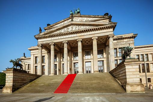 Gendarmenmarkt in Berlin with Konzerthaus