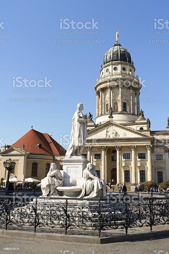 Gendarmenmarkt Square in Berlin stock photo