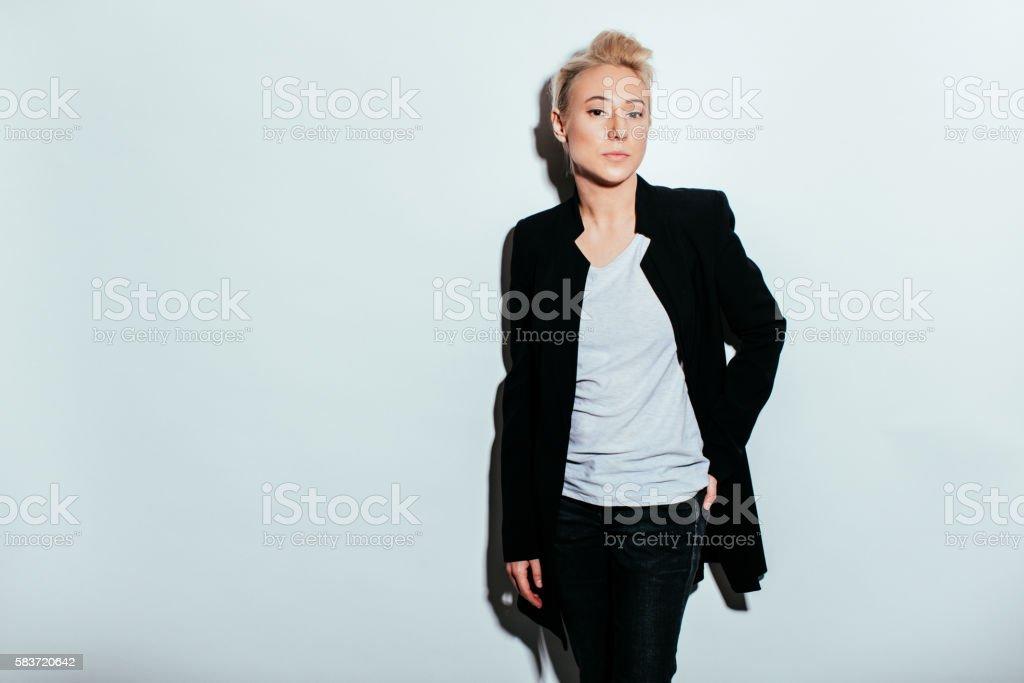 Gender bender stock photo