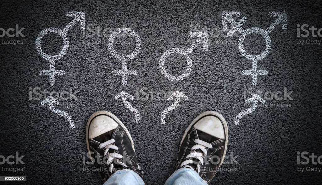 Gender Dysphoria, Confusion or Choice stock photo