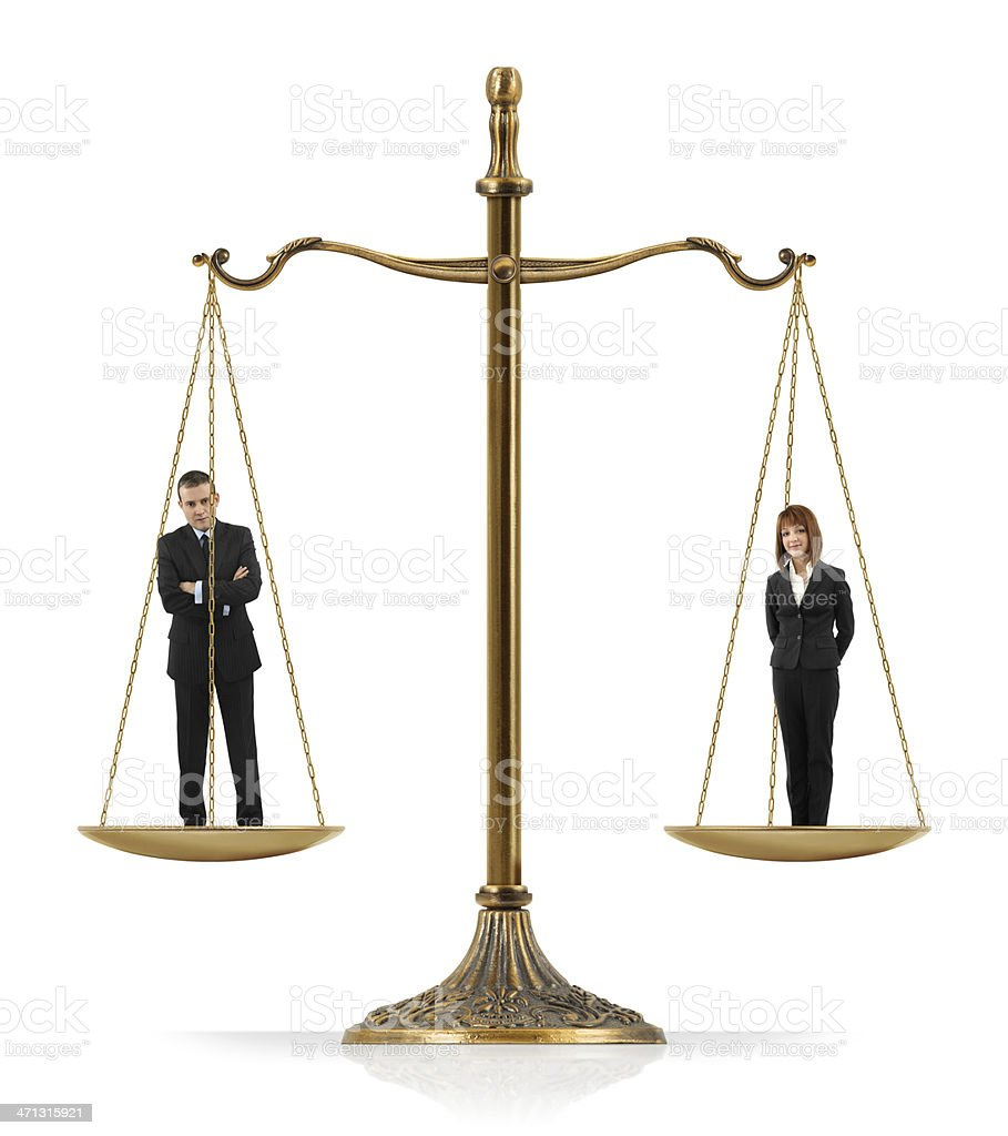 Gender Equality royalty-free stock photo