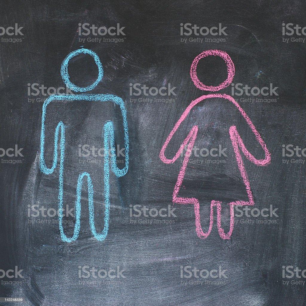 Erwachsene Geschlechtszahlen