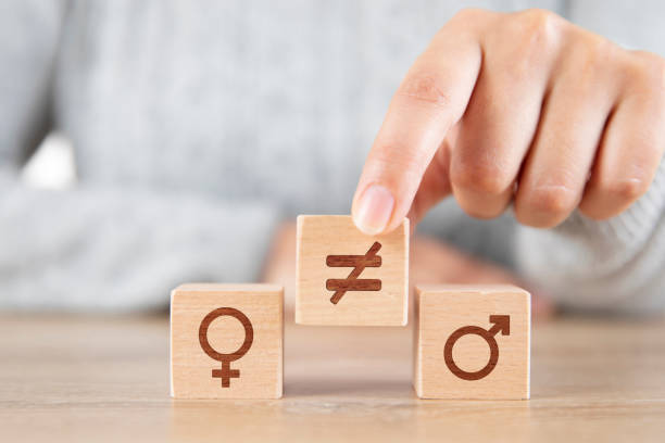 Gender Inequality stock photo