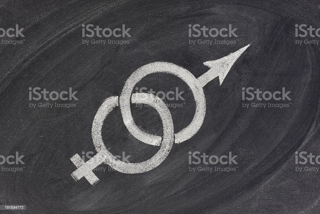 gender, relationship or marriage problems stock photo