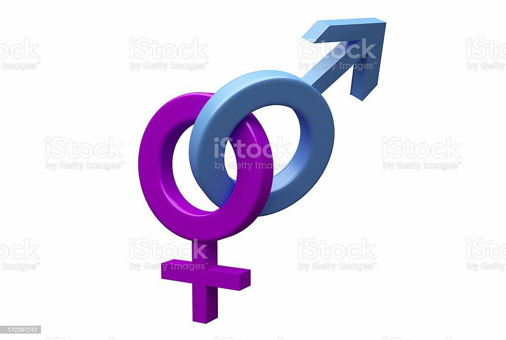 Gender Symbols stock photo