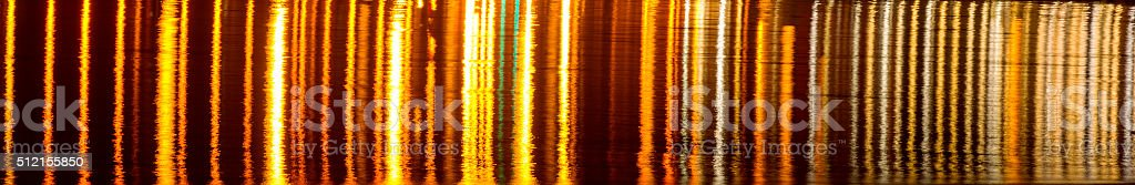 Gene sequencing - Reflected in another source of light stock photo