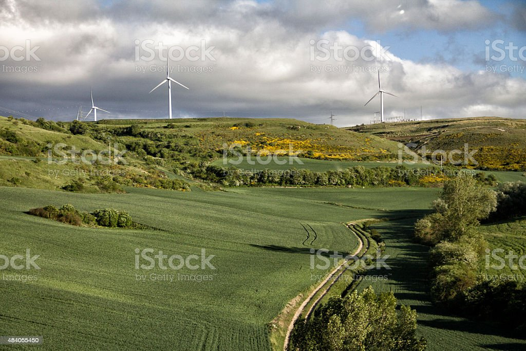Generador eolico 2 stock photo