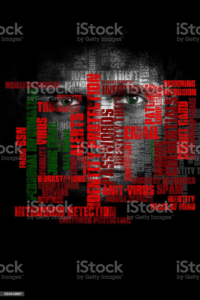 General Computing And Cyber Security Concept stock photo