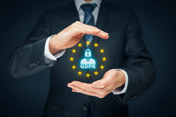General data protection regulation GDPR stock photo
